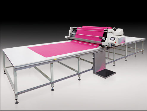 INDEL - OZBILIM P4 ADD Automatic Fabric Spreading Machine 1